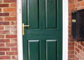 Traditional Charm with Timber door
