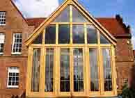 Large Glass Conservatory