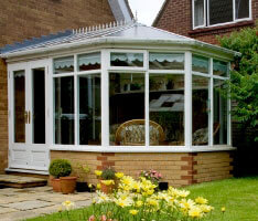 Aluminium doors for grand conservatories
