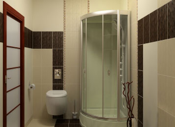 Clear, patterned or obscure shower screens available