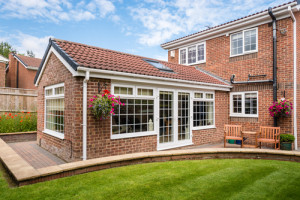Conservatory to add space to this Essex home