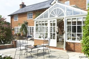 image of conservatory in summer