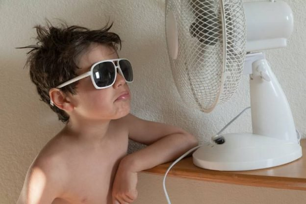 Keeping cool in summer